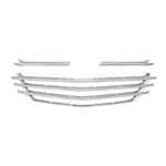 Chevrolet Equinox Chrome Grille Overlay, 2018, 2019