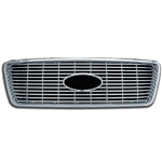 Ford F-150 XLT Chrome Grille Overlay, 2004 - 2008