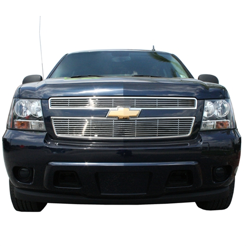 Chevrolet Tahoe Chrome Bar Style Grille Overlay 2007
