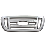 Ford Ranger (XL, FX4) Chrome Grille Overlay, 2006, 2007, 2008, 2009, 2010, 2011