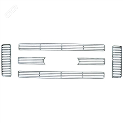 Ford Super Duty Chrome Grille Overlay, 2008 - 2010