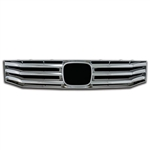 Honda Accord Sedan Chrome Grille Overlay, 2008, 2009, 2010