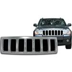 Jeep Grand Cherokee Chrome Grille Overlay, 2008 - 2010