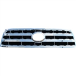 Toyota Sequoia Chrome Grille Overlay, 2008, 2009, 2010, 2011, 2012, 2013, 2014, 2015, 2016, 2017