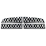 Dodge Ram 1500 Chrome Grille Overlay, 2009, 2010, 2011, 2012