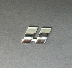 Premium 3D Chrome Individual Letters & Numbers - Inches