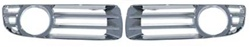 Chrysler 300 Base model  ABS Chrome Fog Lamp Bezels, 2008 - 2010