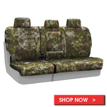 Kryptek Ballistic Custom Seat Covers