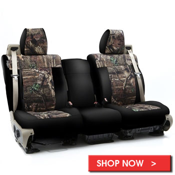 Neoprene Camo Auto Seat Covers