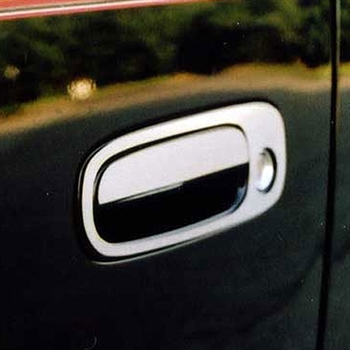 Scion XB Chrome Door Handle Trim, 2004, 2005, 2006, 2007