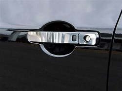 Nissan Rogue Chrome Door Handle Trim with smart key option, 2008, 2009, 2010, 2011, 2012, 2013