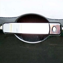 Nissan Rogue SELECT Chrome Door Handle Trim, 2014, 2015