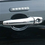 Ford Flex Chrome Door Handle Overlays, 2009, 2010, 2011, 2012, 2013, 2014