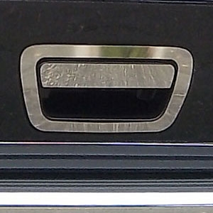 Jeep Grand Cherokee Chrome Rear Hatch Handle Trim, 2011, 2012, 2013, 2014, 2015, 2016