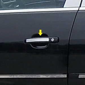 Chevrolet Malibu Chrome Door Handle Accents, 2013, 2014, 2015