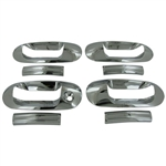 Ford Expedition Chrome Door Handle Covers, 2003, 2004, 2005, 2006, 2007, 2008, 2009, 2010, 2011, 2012, 2013, 2014, 2015, 2016, 2017