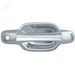 GMC Canyon Chrome Door Handle Covers, 2004, 2005, 2006, 2007, 2008, 2009, 2010, 2011, 2012