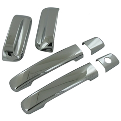 Nissan Xterra Chrome Door Handle Covers, 2005, 2006, 2007, 2008, 2009, 2010, 2011, 2012, 2013, 2014, 2015