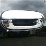 2002 - 2009 GMC Envoy Chrome Door Handle Covers Using 3m Adhesive