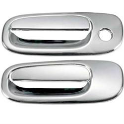 Dodge Challenger Chrome Door Handle Covers, 2009, 2010, 2011, 2012, 2013, 2014, 2015
