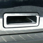 Ford Flex Chrome Tailgate Handle Trim, 2009, 2010, 2011, 2012, 2013, 2014, 2015, 2016, 2017, 2018