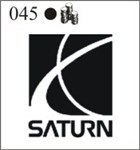 Katzkin Embroidery - Saturn logo (solid)