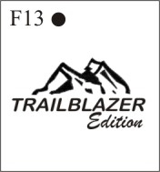Katzkin Embroidery - Trailblazer Edition