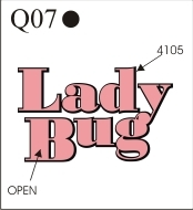 Katzkin Embroidery - Lady Bug