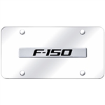 Ford F150 Chrome License Plate