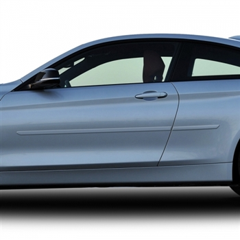 BMW 4-Series Coupe Painted Body Side Molding, 2013, 2014, 2015, 2016