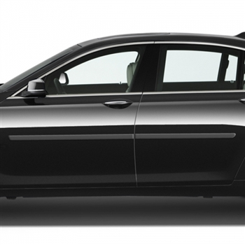 BMW 7-Series Painted Body Side Molding, 2009, 2010, 2011, 2013, 2014, 2015