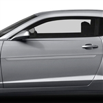 Chevrolet Camaro Painted Body Side Moldings, 2010, 2011, 2012, 2013, 2014, 2015, 2016, 2017, 2018
