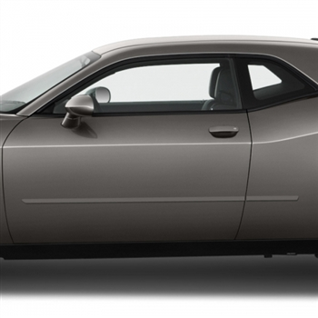 Dodge Challenger Painted Body Side Moldings, 2009, 2010, 2011, 2012, 2013, 2014, 2015