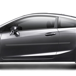 Honda Civic Coupe Painted Body Side Moldings, 2012, 2013, 2014, 2015