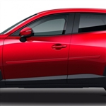 Mazda CX-3 Painted Body Side Moldings, 2016