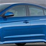 Hyundai Elantra Sedan Painted Body Side Molding, 2007, 2008, 2009, 2010, 2011, 2012, 2013, 2014, 2015