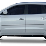 Buick Enclave Painted Body Side Moldings, 2008, 2009, 2010, 2011, 2012, 2013, 2014