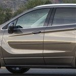 Buick Envision Painted Body Side Moldings, 2016, 2017, 2018