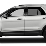 Ford Explorer Painted Body Side Moldings, 2011, 2012, 2013, 2014, 2015, 2016, 2017
