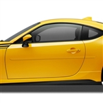Scion FR-S Painted Body Side Moldings, 2013, 2014, 2015, 2016