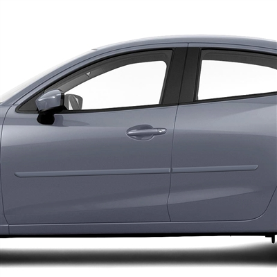 Scion iA Painted Body Side Moldings, 2016, 2017