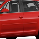 Volkswagen Jetta SportWagen Painted Body Side Moldings, 2009, 2010, 2011, 2012, 2013, 2014, 2015, 2016, 2017