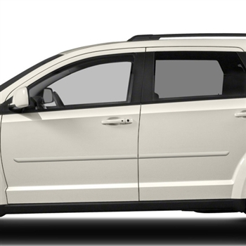 Dodge Journey Painted Body Side Moldings, 2009, 2010, 2011, 2012, 2013, 2014, 2015, 2016, 2017