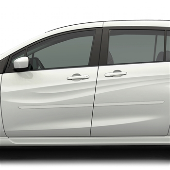 Mazda 5 Painted Body Side Moldings, 2010, 2011, 2012, 2013, 2014, 2015