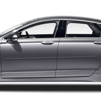 Lincoln MKZ Painted Body Side Moldings, 2013, 2014, 2015, 2016, 2017, 2018