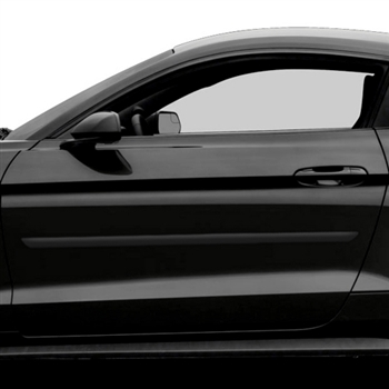 Ford Mustang Painted Body Side Moldings, 2010, 2011, 2012, 2013, 2014, 2015, 2016, 2017
