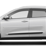 Kia Niro Painted Body Side Moldings, 2017, 2018