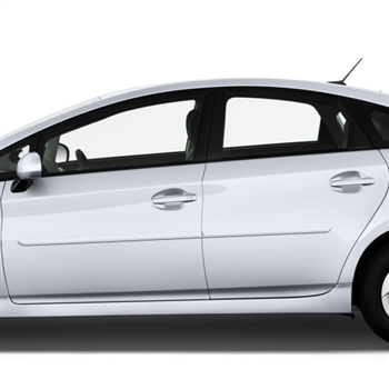 Toyota Prius Painted Body Side Moldings, 2010, 2011, 2012, 2013, 2014, 2015