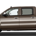 Chevrolet Silverado Painted Body Side Moldings, 2014, 2015, 2016, 2017