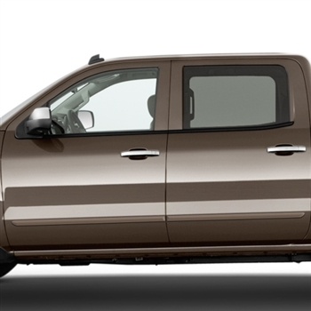 Chevrolet Silverado Painted Body Side Moldings, 2014, 2015, 2016